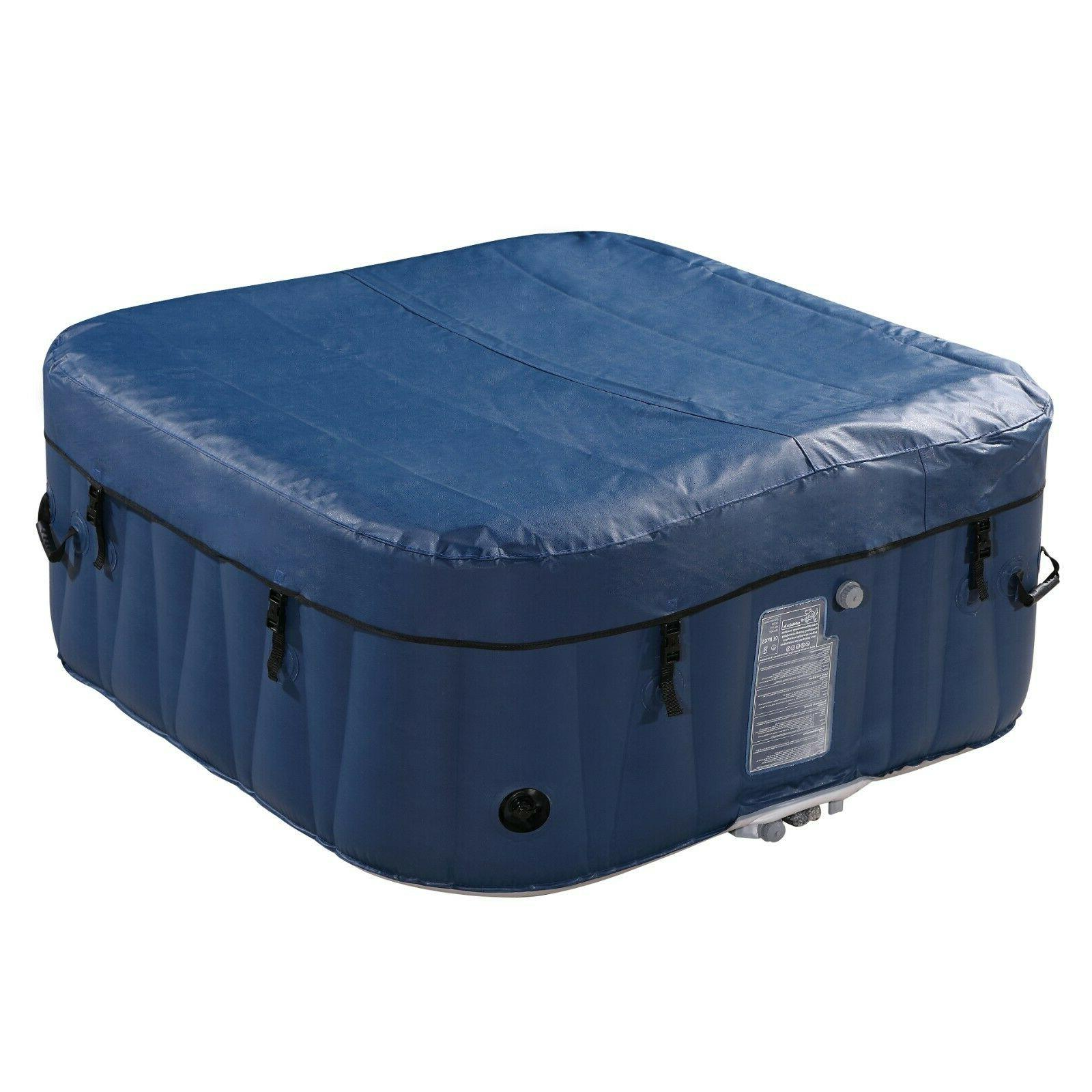 Inflatable Hot Tub 2-4 Person Portable Spa Bubble