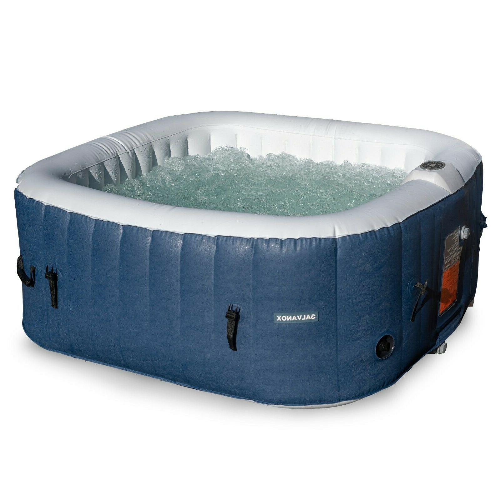inflatable hot tub 2 4 person blow