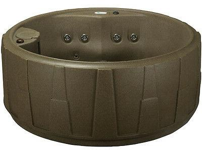 NEW  4 PERSON HOT TUB -  20 JETS - PLUG and PLAY - 2 COLOR O
