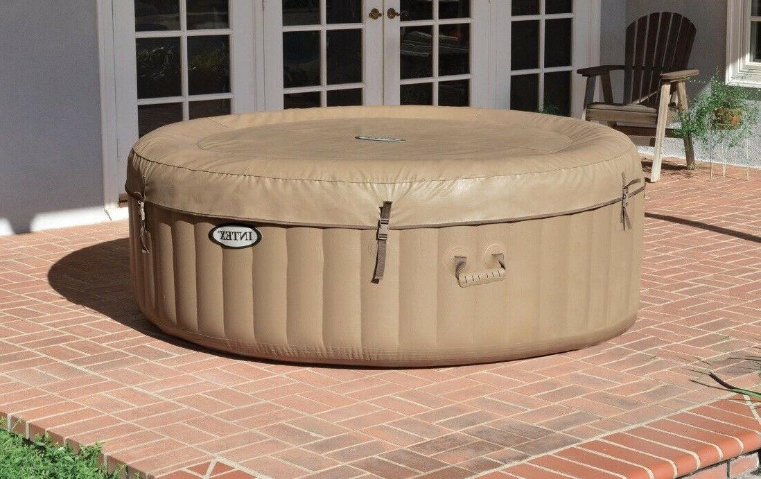 New Purespa Bubble Hot Tub Spa 28425E
