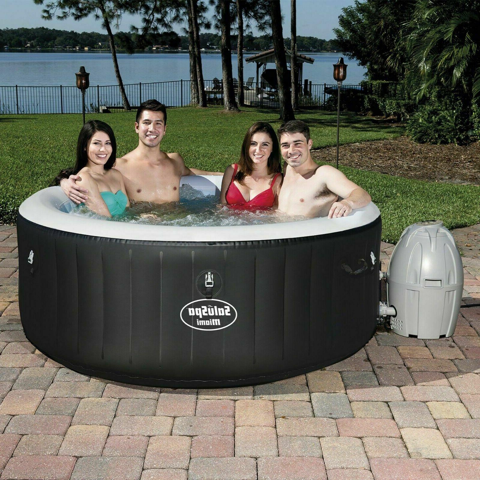 new saluspa hot tub inflatable portable 4