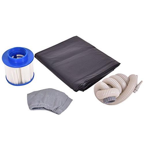 COSTWAY Portable Massage by SpiritOne + Shell Massage Ball