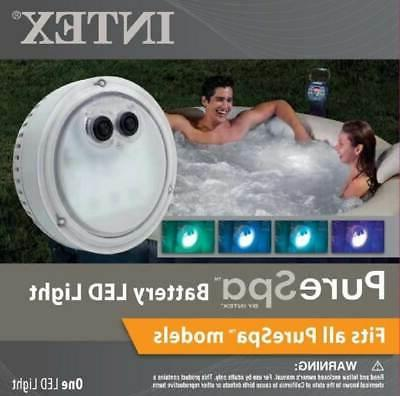Intex Pure Spa Inflatable 6-Person & Battery LED Light