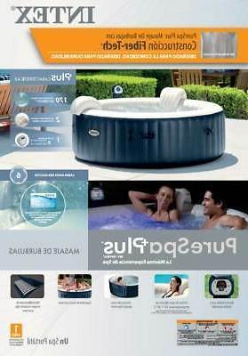 Intex Pure Spa Inflatable 6-Person Bubble & PureSpa Battery Light