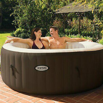 Intex PureSpa 4 Inflatable Hot with Add On