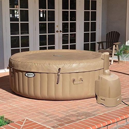 Intex 4-Person Inflatable Spa Portable Tub Cover