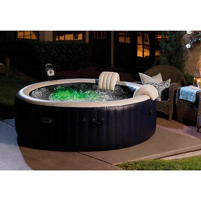 Intex 85 Portable Bubble Jet 6 Hot Tub