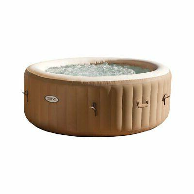 purespa 77 inch 4 person inflatable round