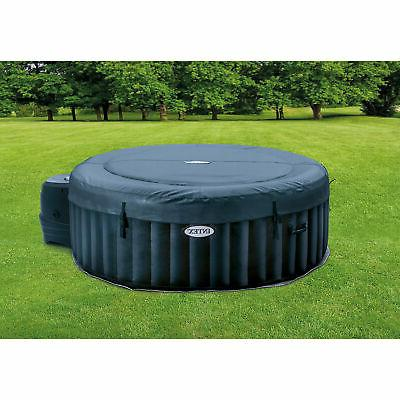 Intex Person Portable Tub Bubble Spa, Navy