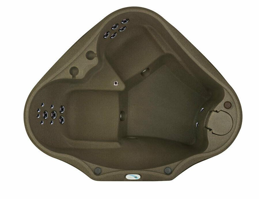 New  2 PERSON HOT TUB - 20 JETS - UPGRADES INCLUDED - OZONE