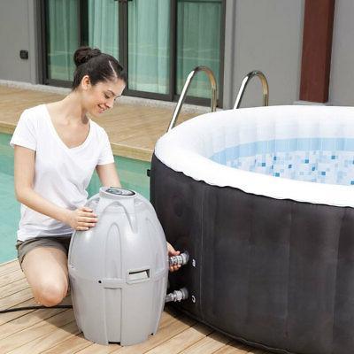 "Coleman SaluSpa 26"" Inflatable Hot Tub 3 Filter Cartridges"