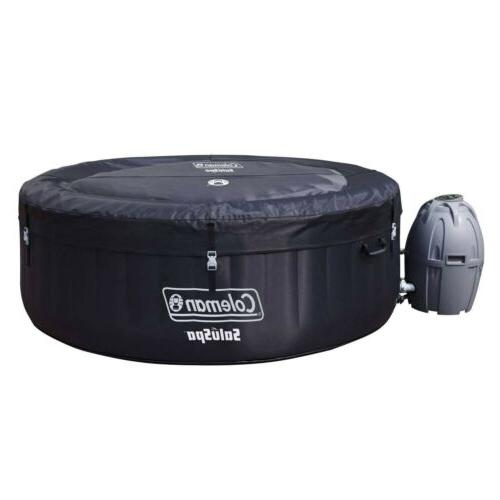 saluspa 4 person round portable inflatable outdoor