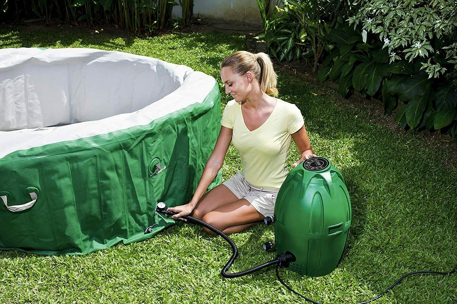"Coleman SaluSpa Inflatable Tub 77"" 28"" Spa IN"