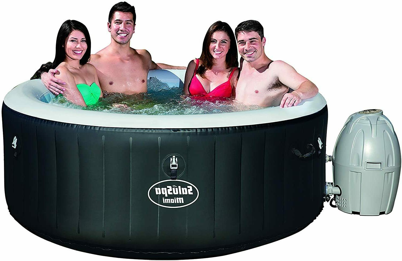 saluspa miami inflatable hot tub 4 person