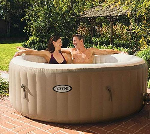Intex Pure Spa 4 Person Tub with Cartridges