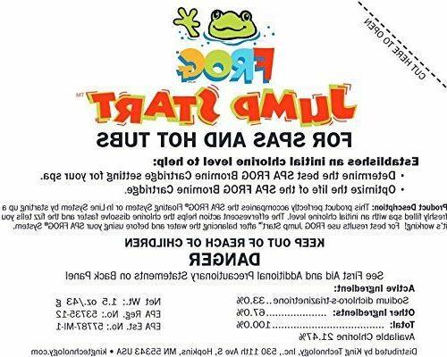 2 Pack Spa Frog 01-14-6012 Hot Tub Mineral Jump Start Shock