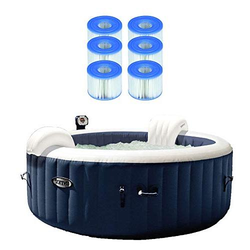 Intex Pure Spa Inflatable Hot Tub w/Type S1 Easy Set Filter