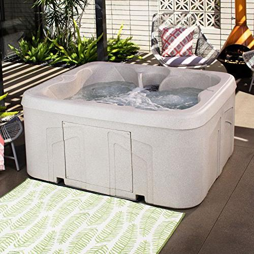 LifeSmart Simplicity Play Tub Spa with Cover