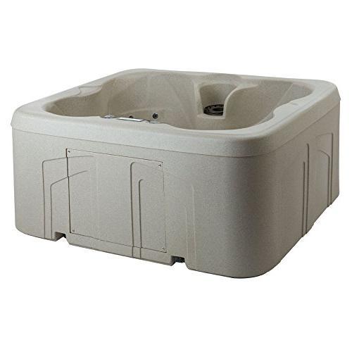 LifeSmart Simplicity 4-Person Plug Play Tub Spa with