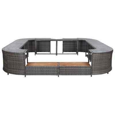 vidaXL Gray Tub Garden Enclosure