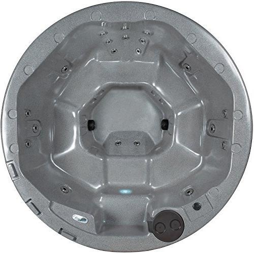 Essential Hot Tubs Arbor-20 Jet Gray Granite