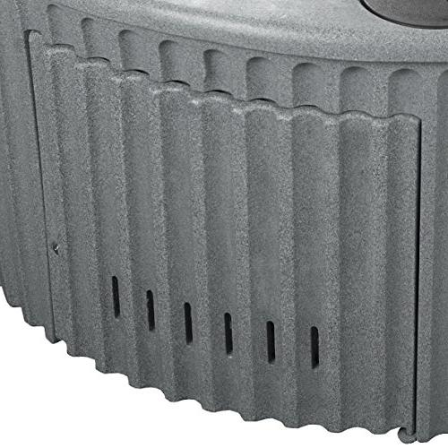 Essential Tubs SS1140200400 Arbor-20 Jet Hot Gray