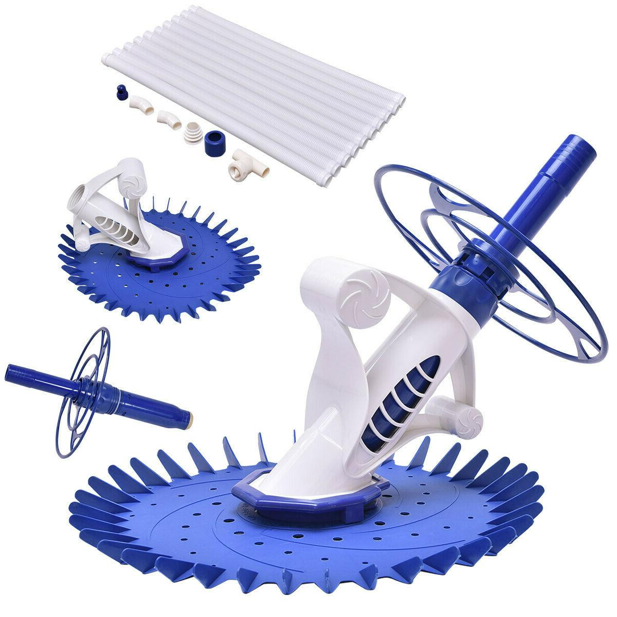 Swimming Pool Cleaner Set Auto Vacuum Cleaner Above Ground NEW