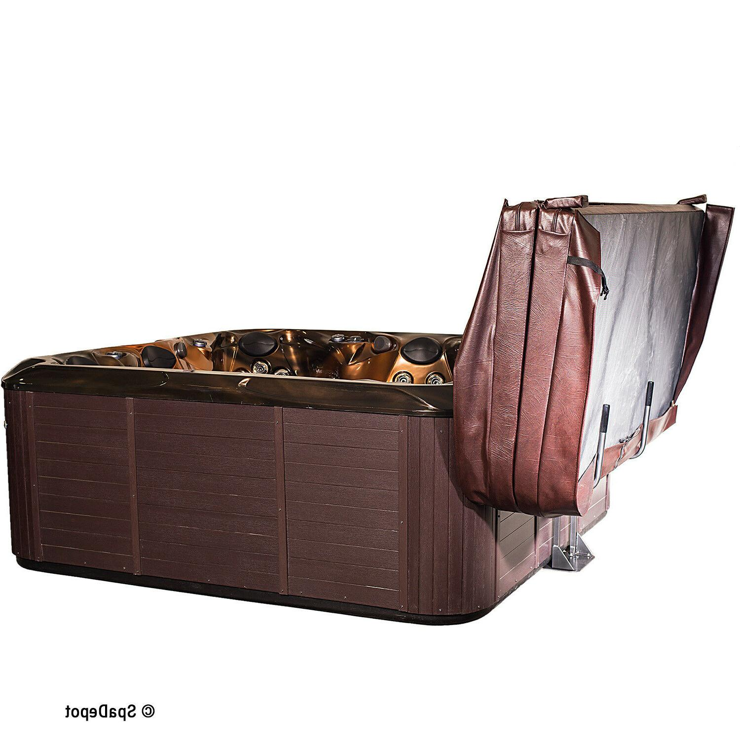 Hot Tub Cover Captain Lift - Hydraulic Undermount Spa Cover