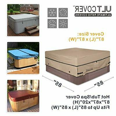 Waterproof Polyester Hot SPA 85 x 85 inch