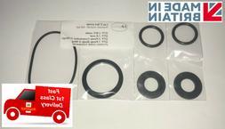 Lay Z Lazy Spa Rubber Seal Set A + B / C plus Pump O Rings -