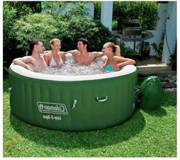 Coleman Lay-Z-Spa Inflatable 4-Person Hot Tub w/ Six Filter
