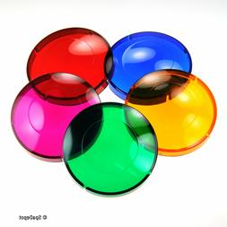 Lens Covers for Hot Tub & Spa Light -  5 Color Quick Change