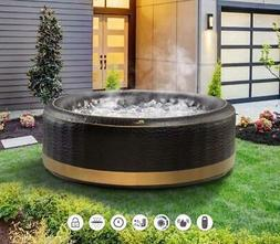 Luxury EXOTIC 6 Bathers Inflatable Hot Tub Spa Jacuzzi Home