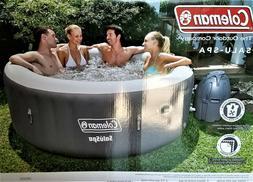 "NEW Coleman 77"" x 28"" SaluSpa Inflatable Hot Tub, 4-6 Person"