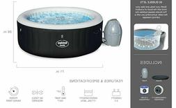 *NEW* Bestway SaluSpa Hot Tub Inflatable Portable 4-Person 7