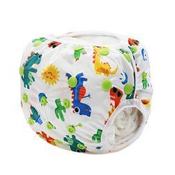 Hunputa Newborn Toddler Baby Boys Girls Cute Pattern Swimwea