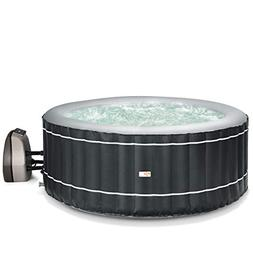 Goplus 4-6 Person Inflatable Hot Tub Portable Outdoor Spa Bu