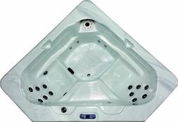 PHT6300 - 2 Person Corner Whirlpool Spa Hot Tub 18 Therapy S