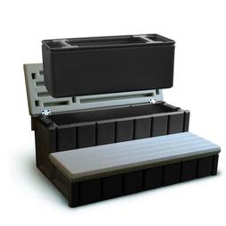 Plastic Spa Step With Storage Compartment Hot Tub Accessorie
