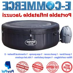 Protable & Premium Jacuzzi Air Jet Inflatable Hot Tub For 4