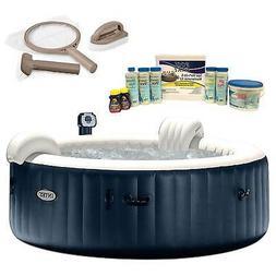 Intex Pure Spa 6 Person Inflatable Hot Tub, Maintenance Kit,