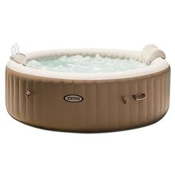 Intex PureSpa 6-Person Inflatable Hot Tub with Drink Tray &