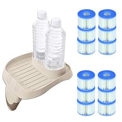 Intex PureSpa Attachable Cup Holder and Refreshment Tray wit