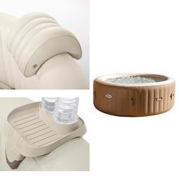 Intex 77in PureSpa Portable Bubble Massage Spa Set and PureS