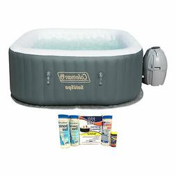 Coleman SaluSpa 4 Person Inflatable AirJet Hot Tub with Main