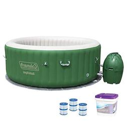 Coleman SaluSpa 6 Person Inflatable Spa with Filters Cartrid