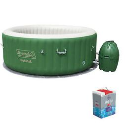 Coleman SaluSpa 6 Person Inflatable Outdoor Spa Hot Tub w/Ch