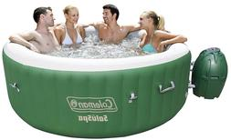 saluspa inflatable hot tub green 4 6