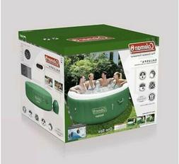 saluspa inflatable hot tub spa green 77x28