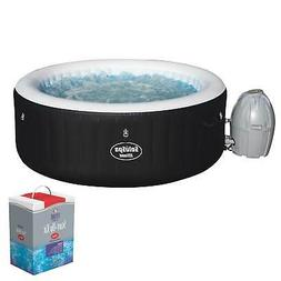 Bestway SaluSpa Inflatable Hot Tub Spa Jacuzzi with Full Chl